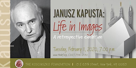 Life in Images - A retrospective exhibition of works by Janusz Kapusta tickets