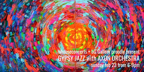 An Evening of Gypsy Jazz with Axon Orchestra tickets