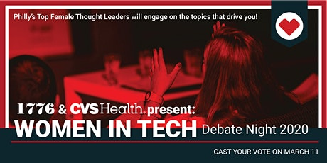 Women in Tech Debate Night tickets