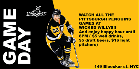NHL Pittsburgh Penguins Hockey Watch Party!! tickets