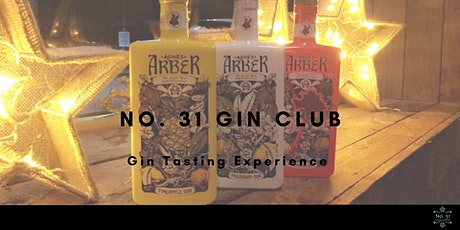No. 31 Gin Club - Gin Tasting Experience tickets