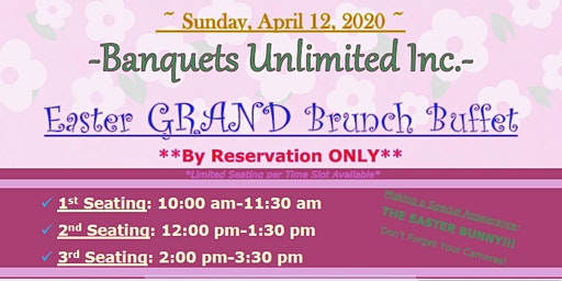 Easter GRAND Brunch Buffet