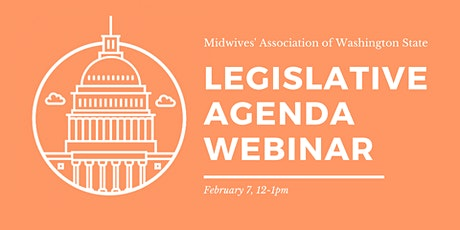WEBINAR: MAWS Legislative Agenda Webinar tickets