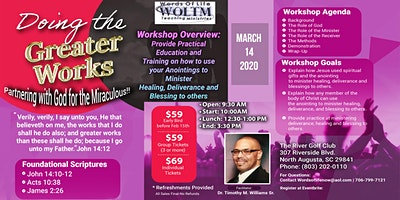 Doing the Greater Works Workshop