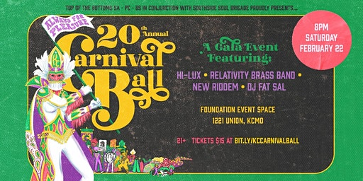 20th Annual KC Carnival Ball ~ Always for Pleasure