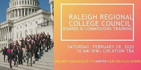 Raleigh Regional College Council tickets
