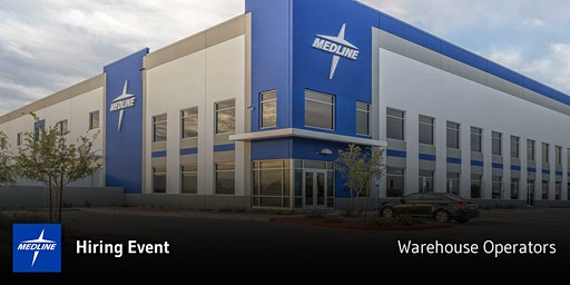 Hiring Event | Medline Warehouse Operators | Perryville, MD