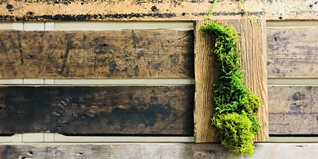 Artists and Makers Series: Moss Wall Art tickets