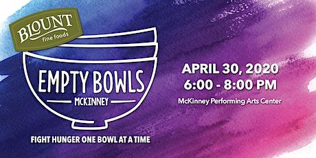 Empty Bowls McKinney 2020 tickets