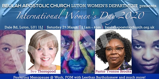 International Women's Day 2020 Beulah Luton Women's Department