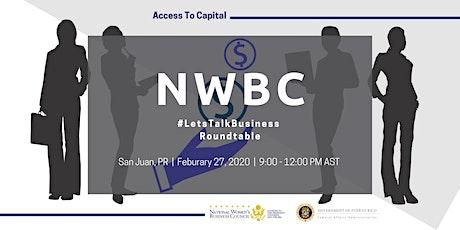 NWBC Puerto Rico Roundtable tickets