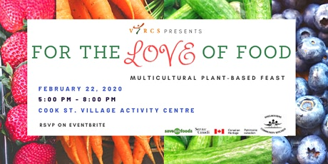 FOR THE LOVE OF FOOD: A Multicultural Plant-Based  tickets