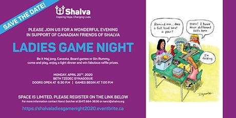 Canadian Friends of Shalva's 6th  Annual Ladies Game Night!!! tickets