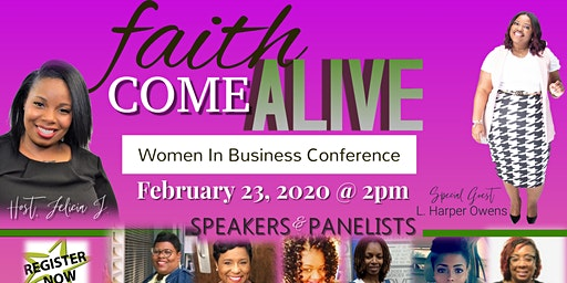 Faith Come Alive: Women in Business Conference