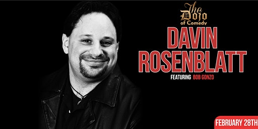 A Night of Laughs with Davin Rosenblatt