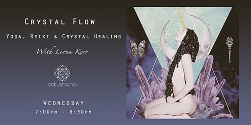 Crystal Flow: Yoga, Reiki & Crystal Healing (A 6-Week Course)