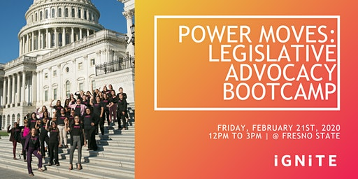 Power Moves: Legislative Advocacy boot-camp