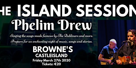 Phelim Drew - The Island Sessions tickets
