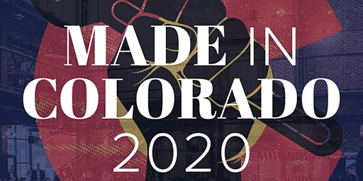 2020 Made in Colorado Manufacturing Event and Awards