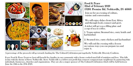 Food & Peace tickets