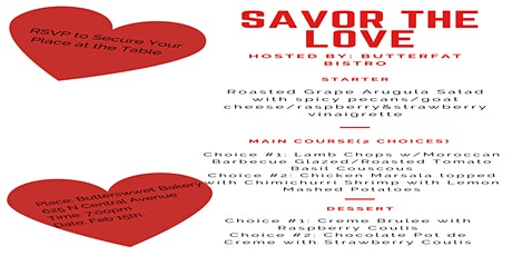 Savor The Love tickets