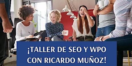 Taller de SEO con Ricardo Muñoz entradas