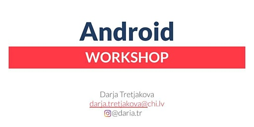 Writing a TODO app on Android from scratch - Workshop
