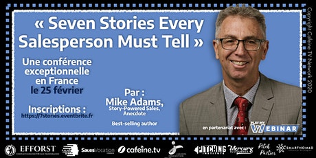 Seven Stories Every Salesperson Must Tell tickets