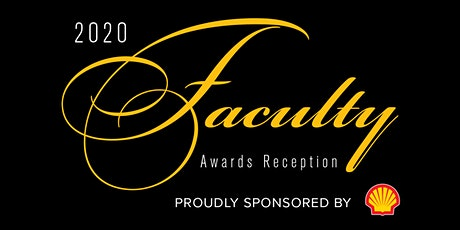 2020 Faculty Awards RSVP for Service of Excellence Award Recipients tickets