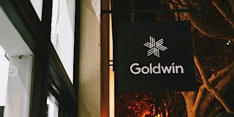 Goldwin Spring & Summer Launch tickets