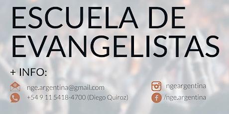 Escuela de Evangelistas | NGE Argentina entradas