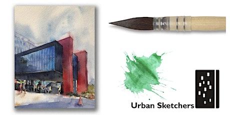 """Workshop de Aquarela para """"Urban Sketch""""- São Paulo- sáb & dom 21e22 março tickets"""