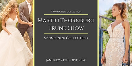 Martin Thornburg Trunk Show at Bridal Elegance tickets