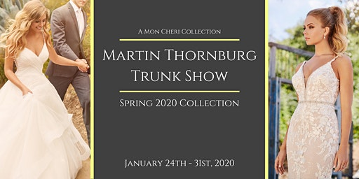 Martin Thornburg Trunk Show at Bridal Elegance