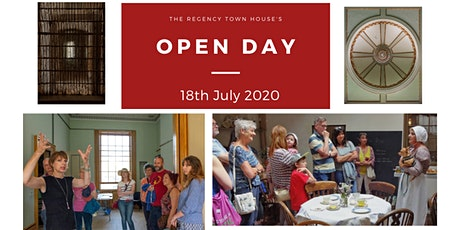 Open Day at the Regency Town House 2020 - July - Mini-tour tickets