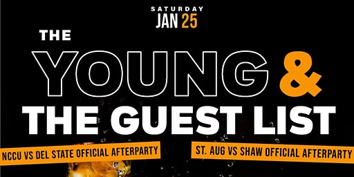 THE YOUNG & THE GUEST LIST