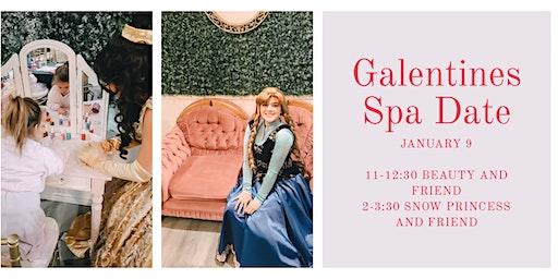 Galentines Spa Date