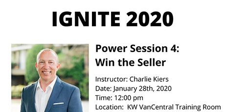 IGNITE 2020 - Power Session 4: Win the Seller tickets