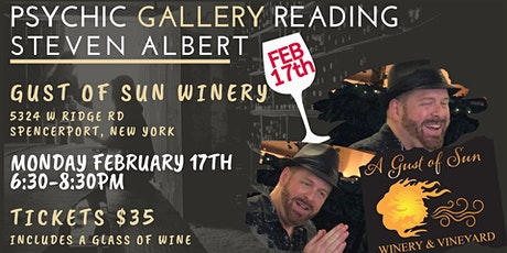 Steven Albert: Psychic Gallery Event - GustsofSun 2/17 tickets