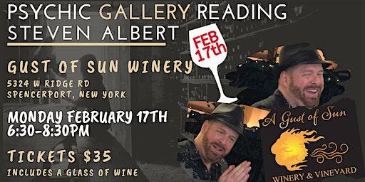 Steven Albert: Psychic Gallery Event - GustsofSun 2/17