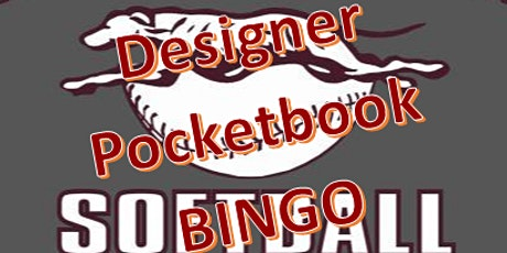 Naugatuck High School Softball Team Designer Pocketbook Bingo tickets