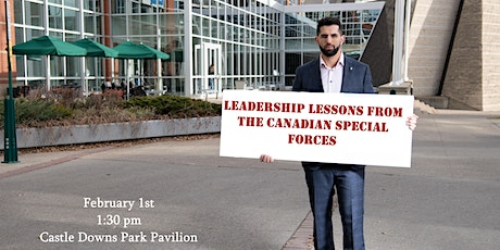Leadership Lessons from the Canadian Special Forces tickets