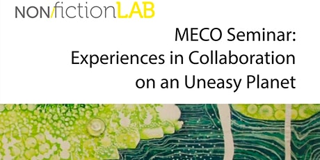 Seminar: Experiences in Collaboration on an Uneasy Planet tickets