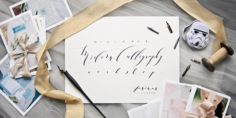 Beginner Modern Calligraphy Workshop with Seniman Calligraphy-February Weekend Class 2020 tickets