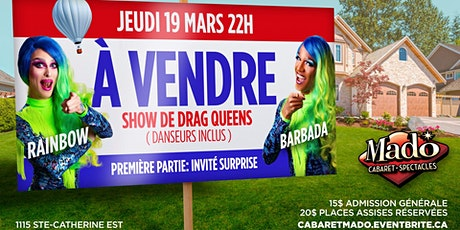 À Vendre, show de drag queens tickets