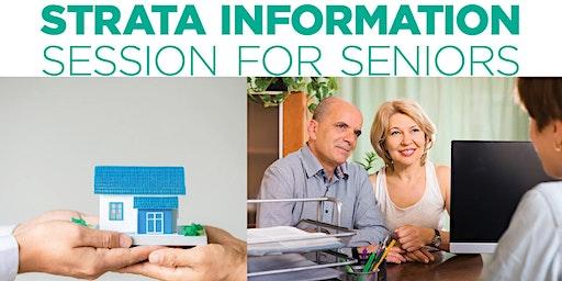 Sans Souci Library - Strata Information Session for Seniors