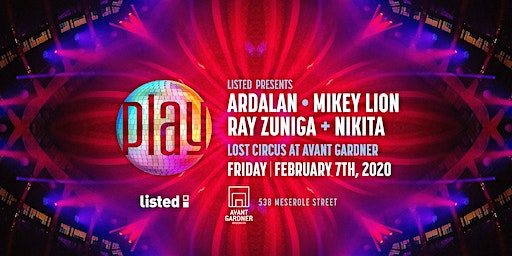 Mikey Lion & Ardalan PLAY in The Lost Circus
