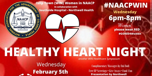 Islip Town NAACP WIN /SSH- Healthy Heart Night for Women