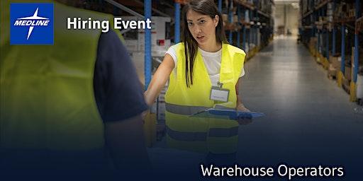 Hiring Event | Medline Warehouse Operators | Memphis, TN