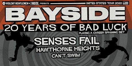Bayside – 20 Year Anniversary Tour tickets